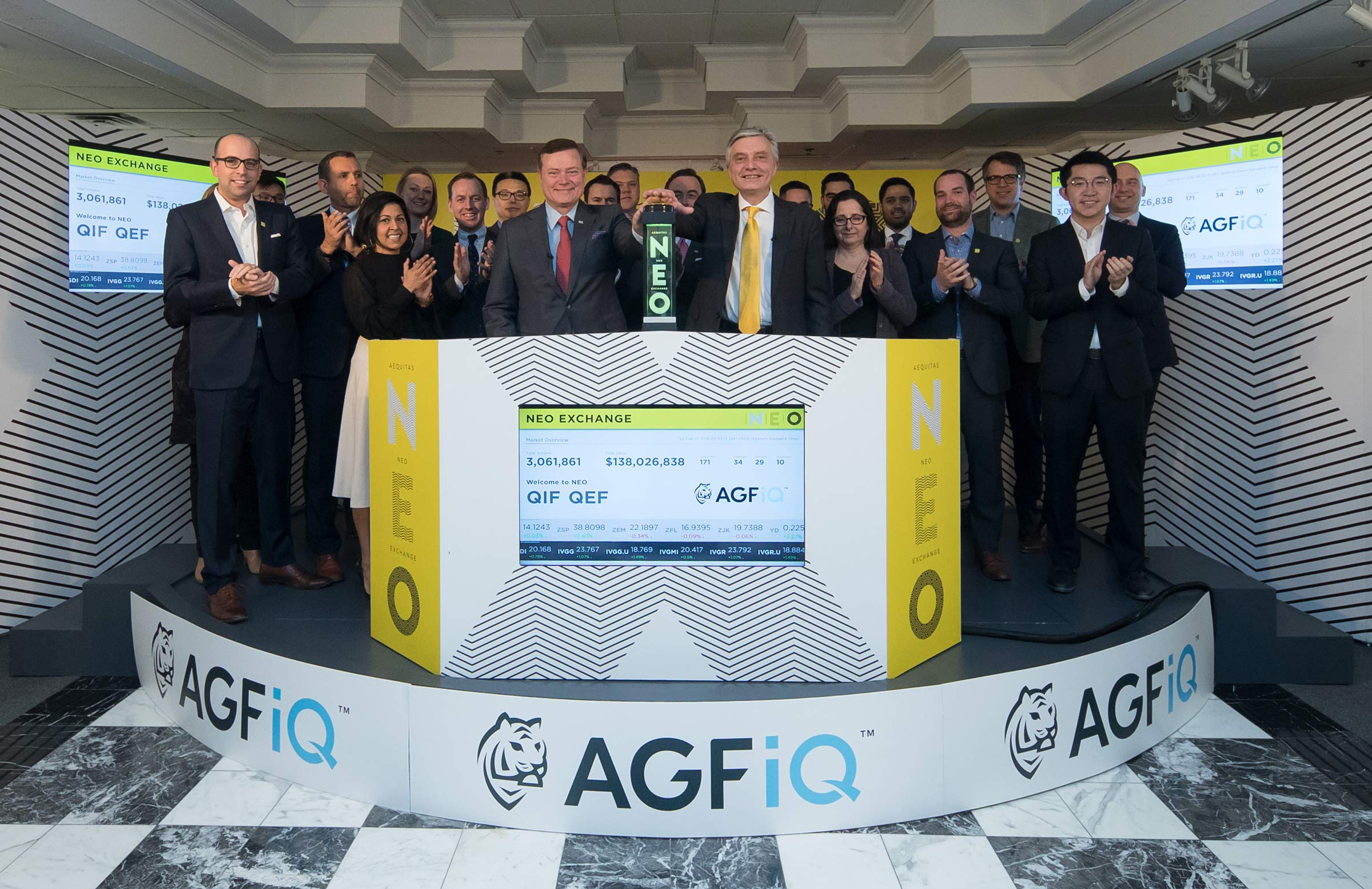 AGF Opens the NEO Exchange